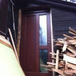 Die neue Haustür