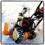 Unsere Schneefräse