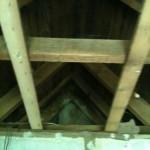 der Dachstuhl ist top