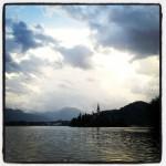 Der See von Bled/Slowenien